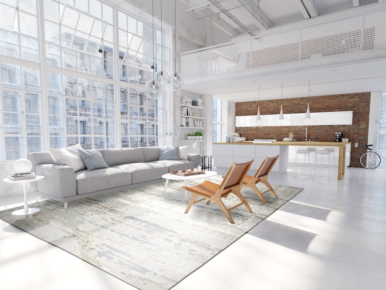 Style d\'ameublement industriel : rustique, ouvert et lumineux